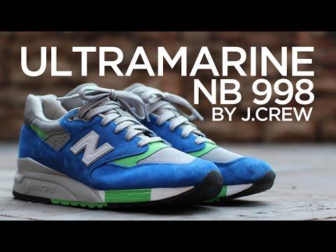 los angeles e4dec e0798 Closer Look: J.Crew x New Balance 998 - Ultramarine