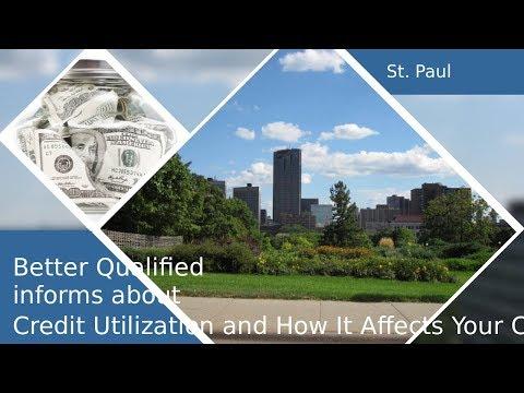 Consumer Credit/St. Paul Minnesota/Credit Bureau/Score Utilization