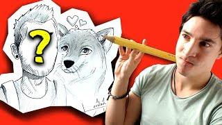 Je dessine les Youtubeurs en MANGA ! 2#