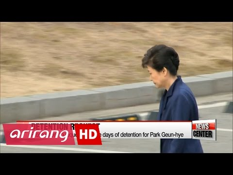 Prosecutors to request 10 more days of detention for Park Geun-hye