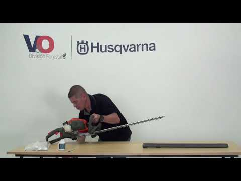 Uso y manejo del Cortasetos Husqvarna