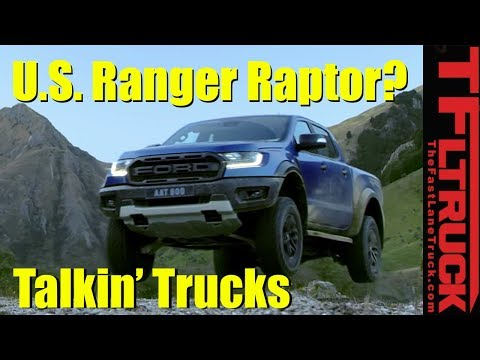 New Ford Ranger Raptor Spied! Talkin&#; Trucks #