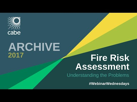 WEBINAR: Fire Risk Assessment – Understanding the Problems
