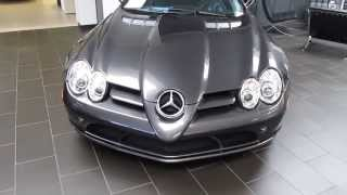 Grey Mercedes-Benz SLR McLaren For Sale At Symbolic Motors 06-14-2013
