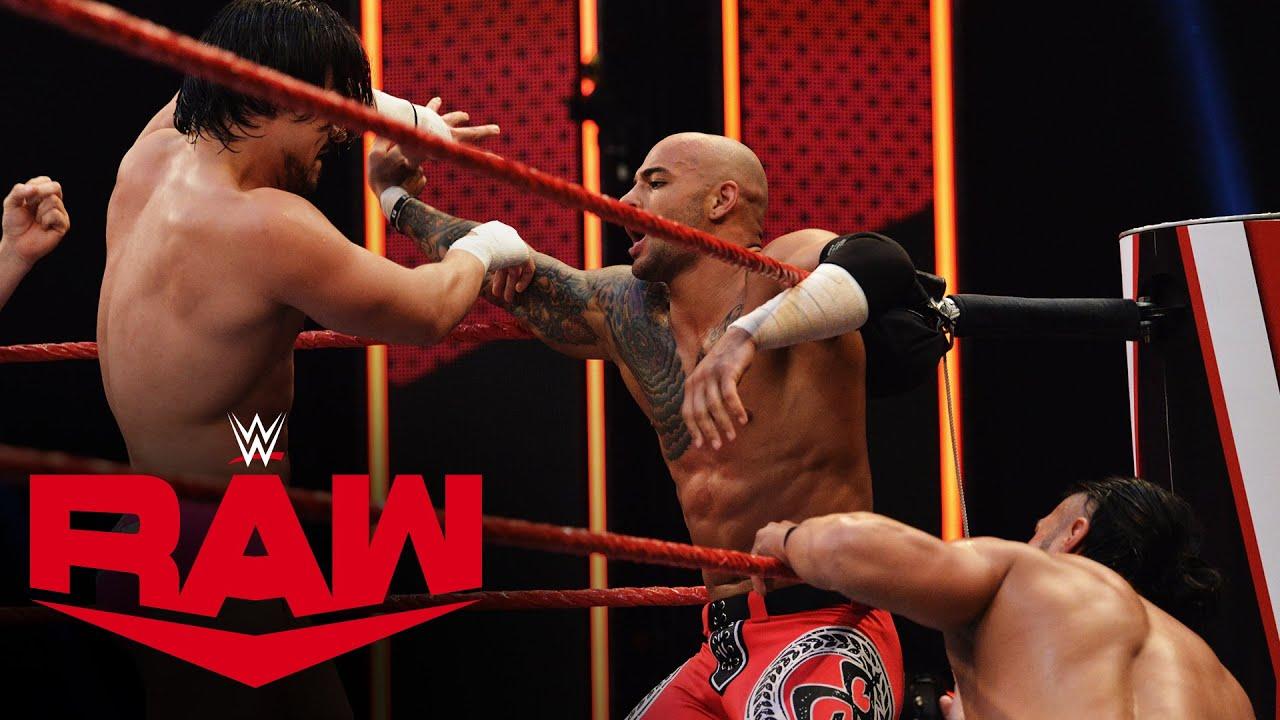Ricochet & Cedric Alexander vs. Andrade & Angel Garza: Raw, March 23, 2020
