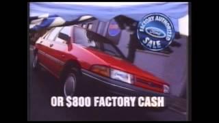 "Ford Motor Company / Australia ""Tent Sale"" _ TVC   ( 1991 )"