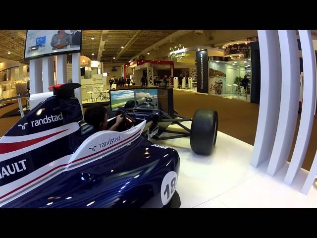 Simulador F1 max Williams Randstad