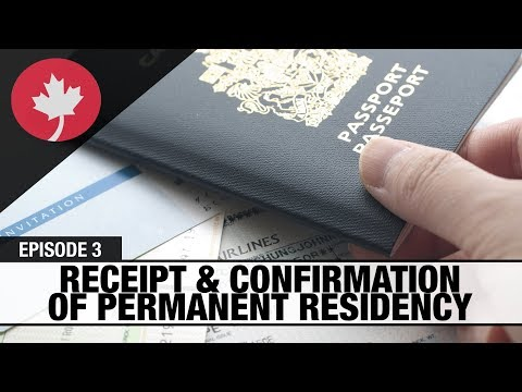 Receipt/Confirmation of Permanent Residence - Real Talk Immigration #3