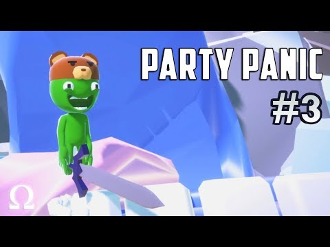 ONE EXCELLENT ADVENTURE! | Party Panic #3 Funny Moments Ft. Delirious, Cartoonz, Gorilla