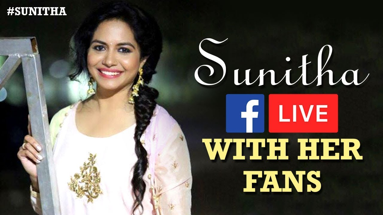 Singer Sunitha FB Live Chit Chat With Fans | #Sunitha FB Live Video | #StaySafe & #StayHome