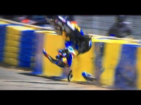 Jack Miller Crash, Free Practice Moto Gp Le Mans France