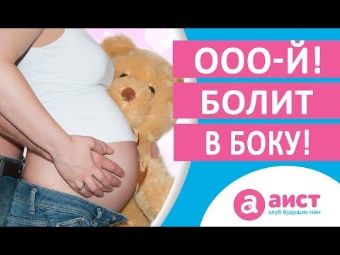 Болят связки внизу живота при беременности