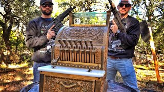 100 Year Old Cash Register Is Locked Up Tight!!!