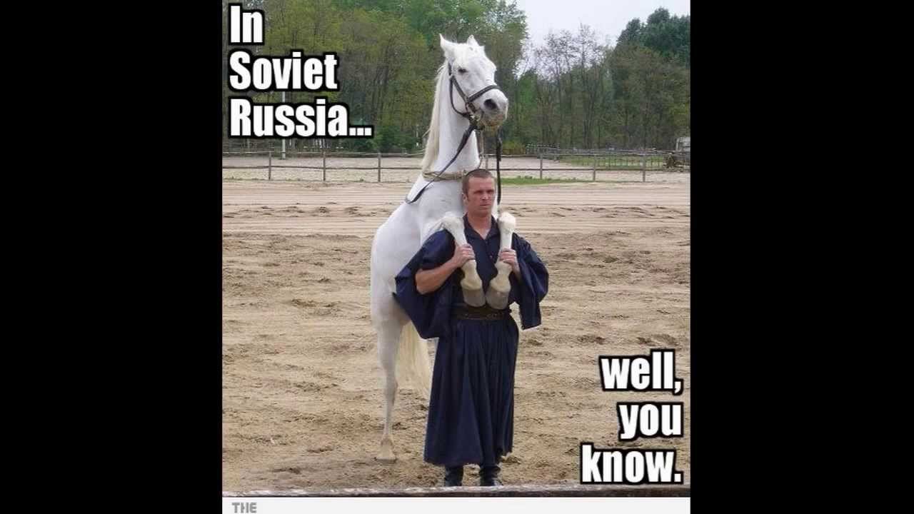 In Soviet Russia Jokes (Better Quality and Jokes) - YouTube
