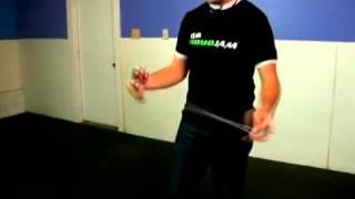 как делать йо йо трюк двойная железная петля double iron whip