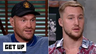 Tyson Fury predicts a knockout win vs. Otto Wallin | Get Up