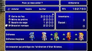 Walkthrough FR l Final Fantasy IV PSP l Objet 11 : Le château des Nains