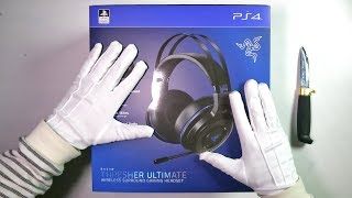 TheRelaxingEnd Unboxing Razer Thresher Ultimate Gaming Headset Call of Duty WWII Gameplay
