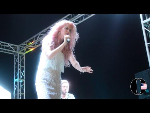 Joss Stone Live in Concert in Liberia