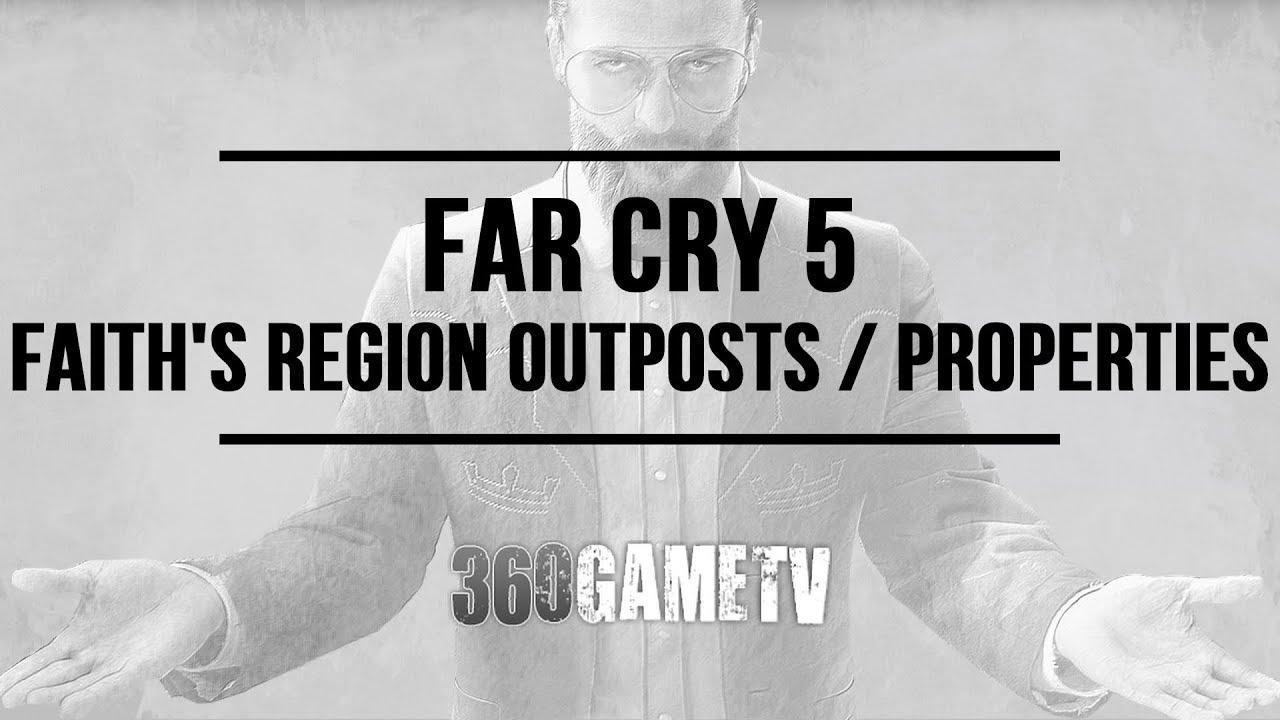 Far Cry 5 Cult Outposts Cult Properties Locations In Faith S