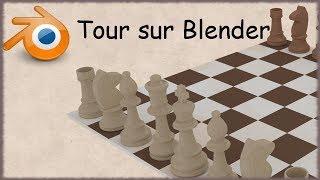 Blender - 33 - TP Echecs Tour / Chess Game Tower