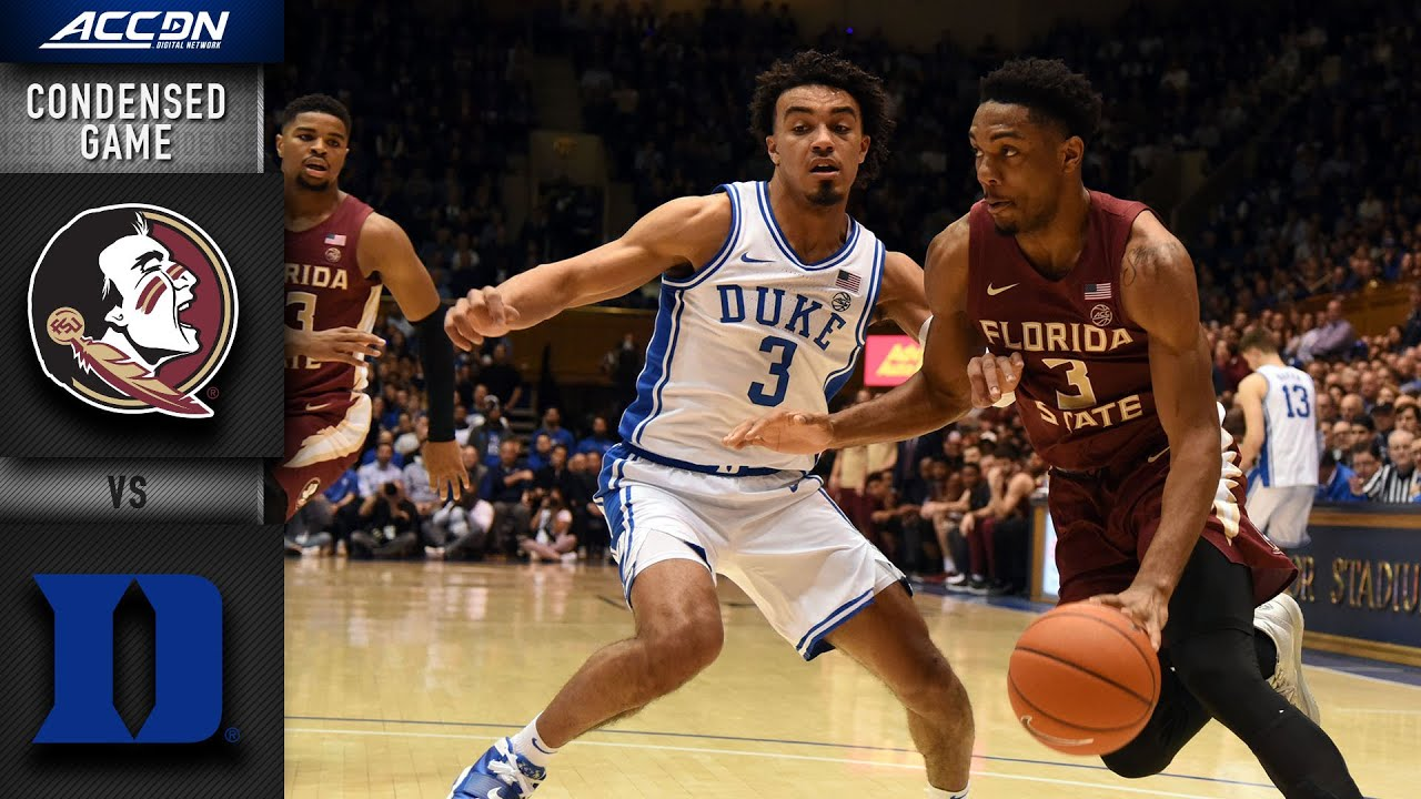 Florida State vs. DukeCondensed Game | 2019-20 ACC Men's Basketball