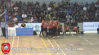 Radar Pacitan JPNN Volleyball SMKN 2 Pacitan vs SMK PGRI 1 Pacitan