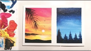 how to paint on canvas