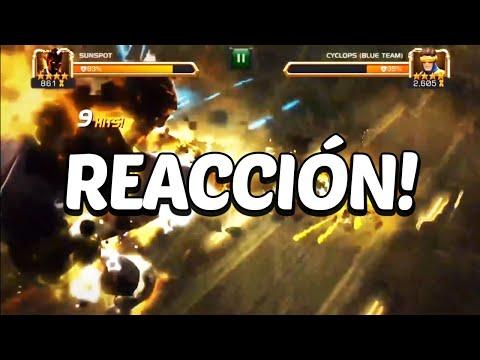 Reacción | Sunspot y Warlock | Teaser Super Ataques - Marvel Contest Of Champions