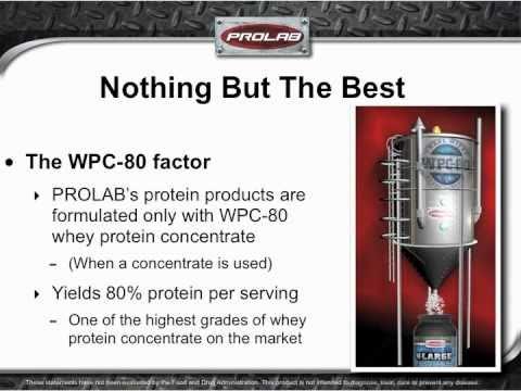 Prolab WPC-80 Protein