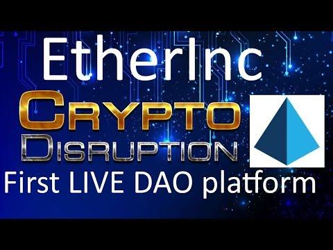 EtherInc (ETI) - Interview with Tarun Malik | Create Organizations on the Blockchain
