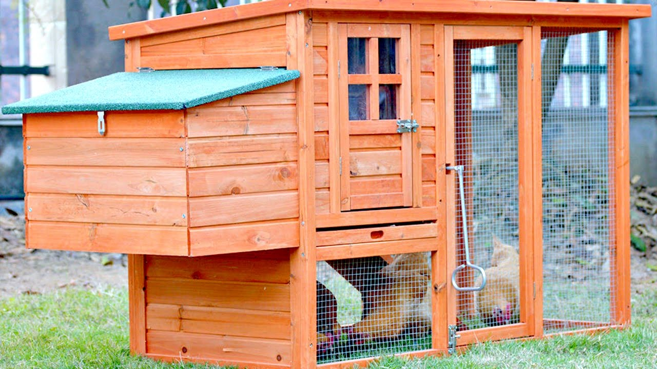 hutch in nj cedar with stain coops acres green hutches boxes living brown ground wooden product batten off walnut dutch board outdoor pa shingles nesting coop siding and high chicken
