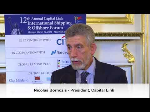 2018 12th Annual International Shipping & Offshore Forum - Nicolas Bornozis Interview