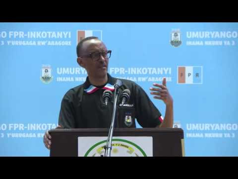 President Kagame speaks at RPF-Inkotanyi 3rd Women's League Congress, 22 April 2017 Part 1/2