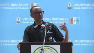 President Kagame speaks at RPF-Inkotanyi 3rd Women's League Congress, 22 April 2017 Part 1/2