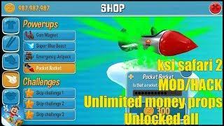 ksi safari2 mod apk-Unlimited money props,Unlocked all