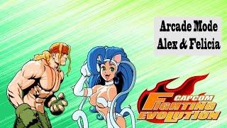 Capcom Fighting Evolution: Alex/Felicia