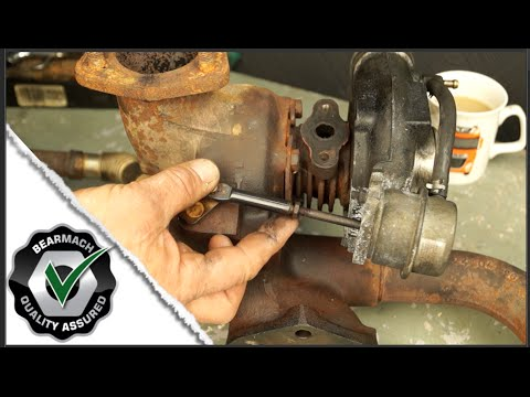 Land Rover 300tdi turbo boost pressure check  how to  YouTube