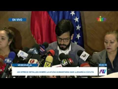 Ingreso de ayuda humanitaria a Venezuela