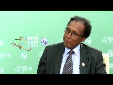 ITU PP14 INTERVIEW: Mohamed Ibrahim, Minister, Posts & Telecommunications,Somalia