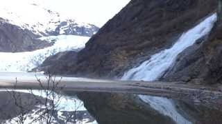 Mendenhall Glacier and Nugget Falls Juneau, Alaska. Our Celebrity Century cruise.