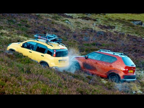 Suzuki Ignis Vs Fiat Panda: Mountain Race | Top Gear: Series 26