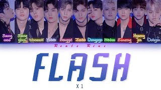Gambar cover FLASH - X1 (엑스원) [Color Coded Lyrics/가사 HAN|ROM|INDO]