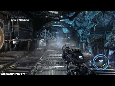 Прохождение Alien Rage - Уровень 13: Катастрофа + босс Мех-Часовой DF9