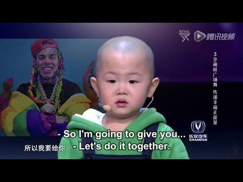 3 years old baby dances on 6IX9INE- GOOBA