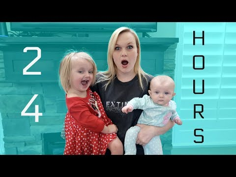 24 HOURS WITH 6 KIDS AND NO DAD!