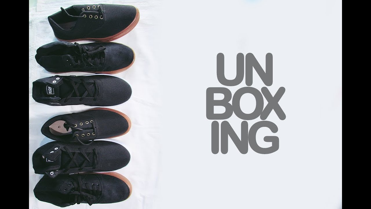 182e8b3d19 Tênis da Kanui I 3 Pares. Unboxing 4 - YouTube