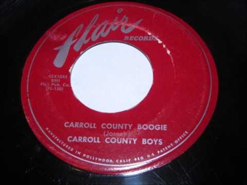 carroll county boys  carroll county boogie