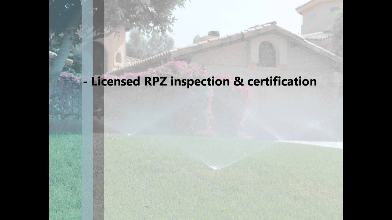 Chicago Rpz Backflow Prevention Certification By Drf Trusted