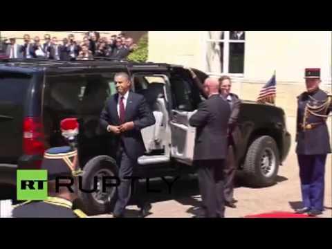 Путин и Обама.